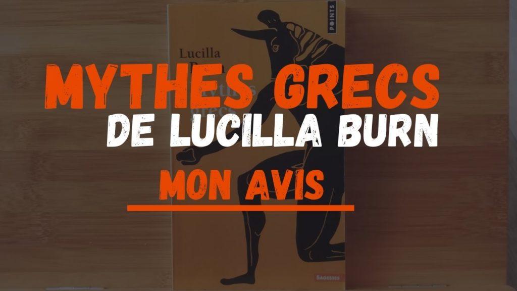 avis critique mythes grecs lucilla burn