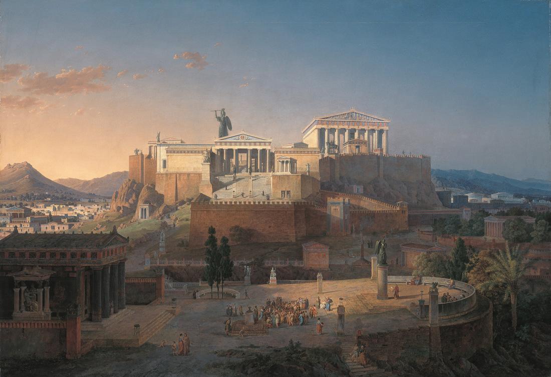 athènes mythologie grecque