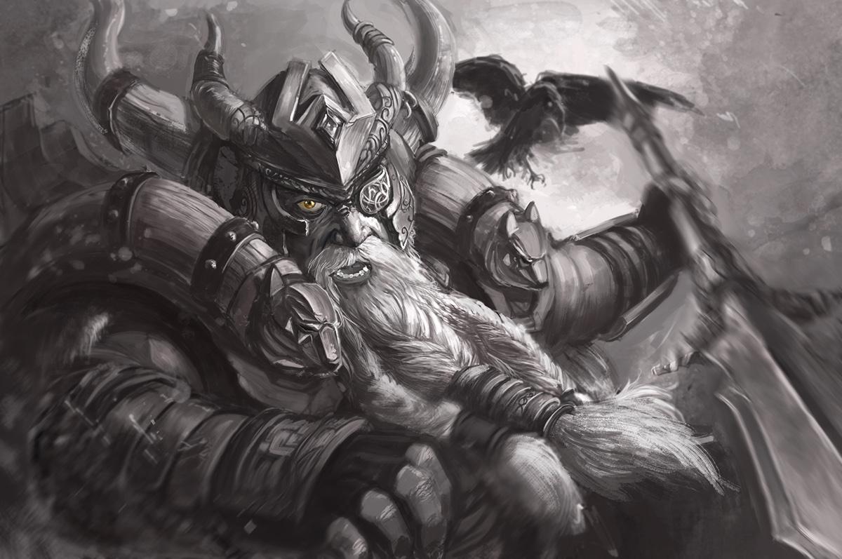 draupnir mythologie nordique