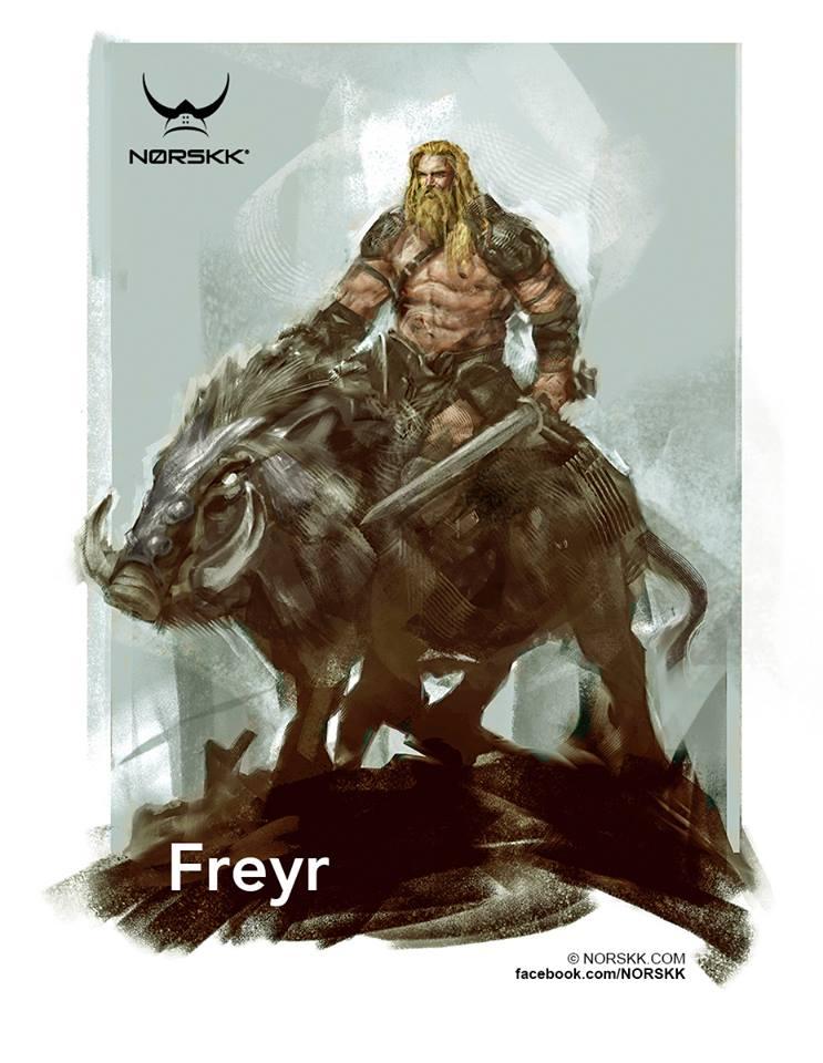 sanglier freyr viking